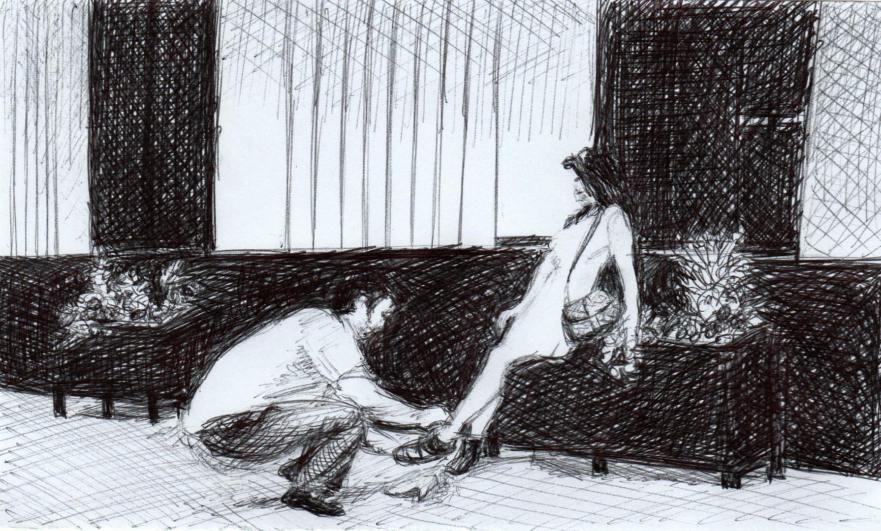 """Marie Désert - """"A ses pieds"""""""
