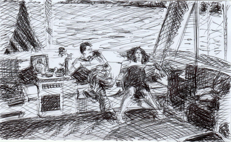 """Marie Désert - """"Sur le bateau"""""""