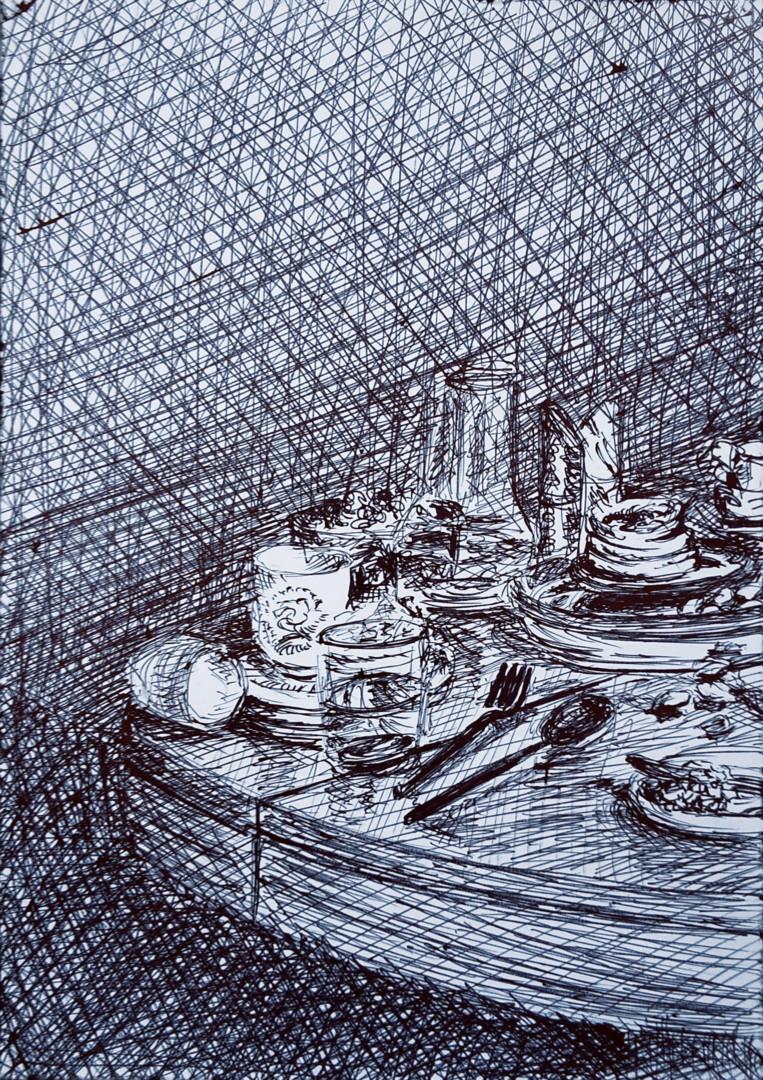Marie Désert - Banquet