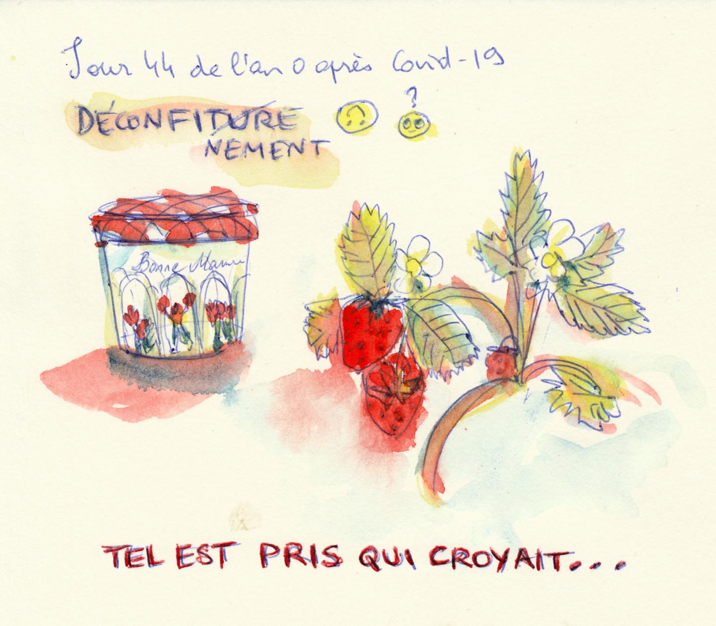 Marie Désert - DECONFITURE