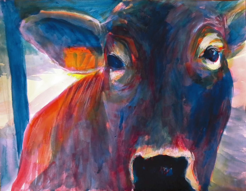 Marie Désert - Vache