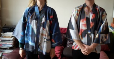 """Kimonos de la série """" The Grindhouse """" 13"""