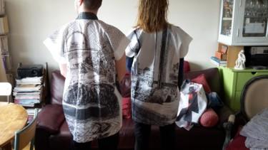 """Kimonos de la série """" Alchimie artistique """""""